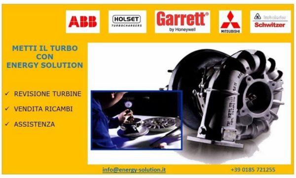 revisione turbine vendita ricambi assistenza