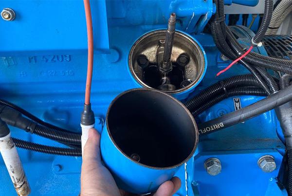 Riparazione impianto Syngas