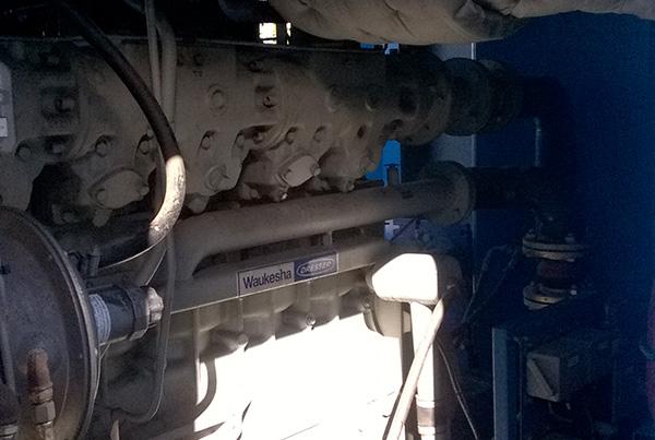 Problematiche di vibrazione su motore Waukesha